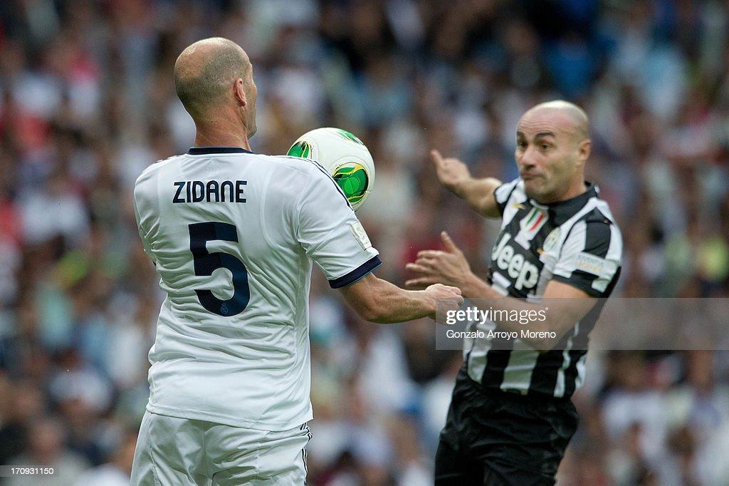 Real Madrid Legends v Juventus Veterans - Corazon Classic Match 2013