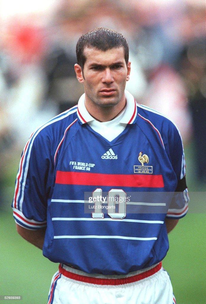 Image result for zinedine zidane 1998