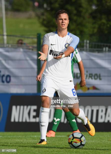 Zinho Vanheusden of FC Internazionale in action during the Preseason Friendly match between FC Internazionale and Wattens on July 9 2017 in Reischach...