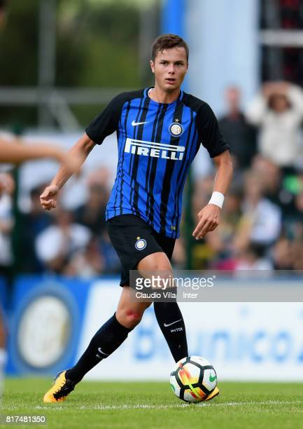 Zinho Vanheusden of FC Internazionale in action during the PreSeason Friendly match between FC Internazionale and Nurnberg on July 15 2017 in Bruneck...