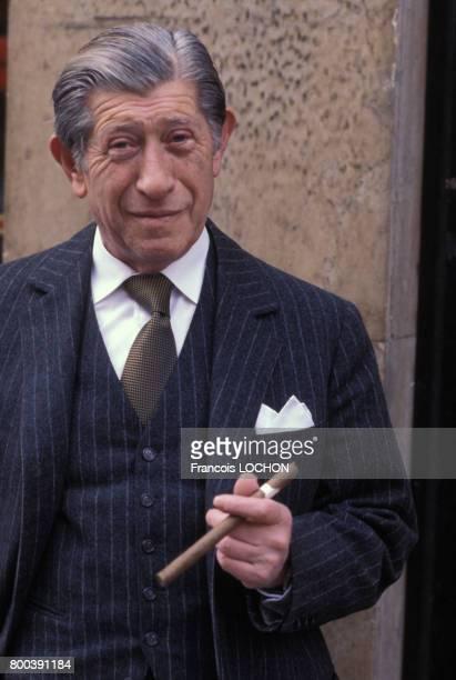 Zino Davidoff dans son magasin à Genève le 21 janvier 1978 en Suisse