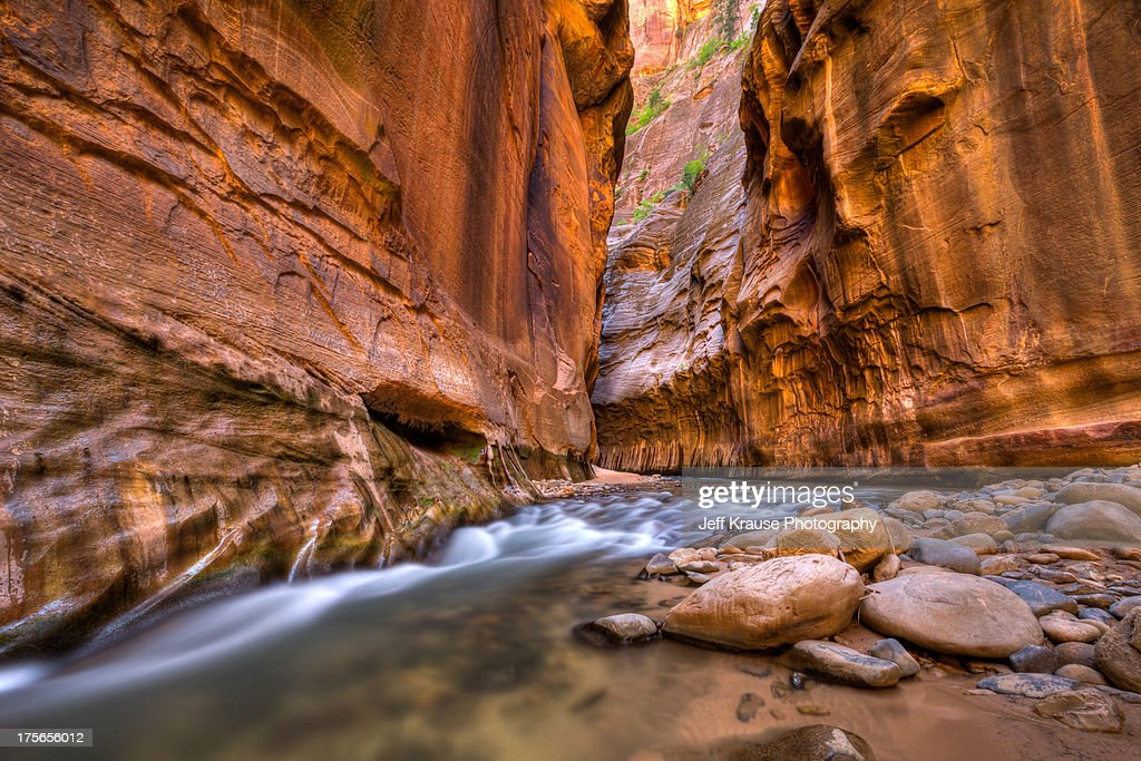 Zion National Park - Narrows Ahead