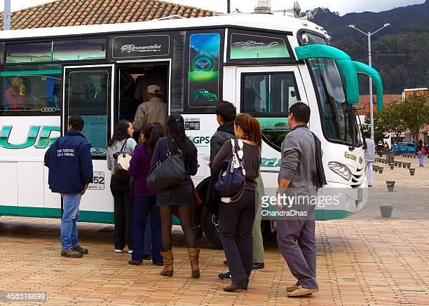 Zipaquirá, Colômbia-Turista Transporte