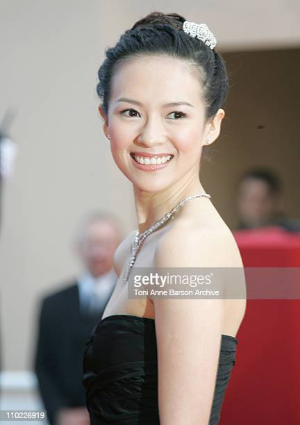 Ziyi Zhang during 2005 Cannes Film Festival Closing Ceremony and 'Chromophobia' Screening at Palais Du Festival in Cannes France