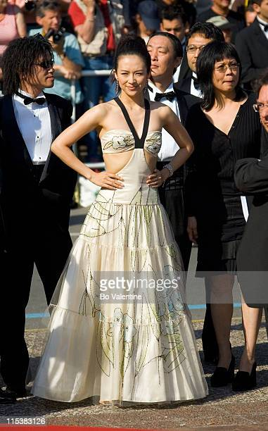 Ziyi Zhang during 2005 Cannes Film Festival 'The Three Burials of Melquiades Estrada' Premiere in Cannes France