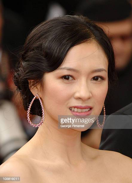 Ziyi Zhang during 2006 Cannes Film Festival 'Babel' Premiere at Palais des Festival in Cannes France