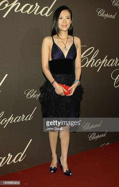 Ziyi Zhang during 2006 Cannes Film Festival Chopard Trophy Awards Ceremony Arrivals at Carlton Hotel in Cannes France