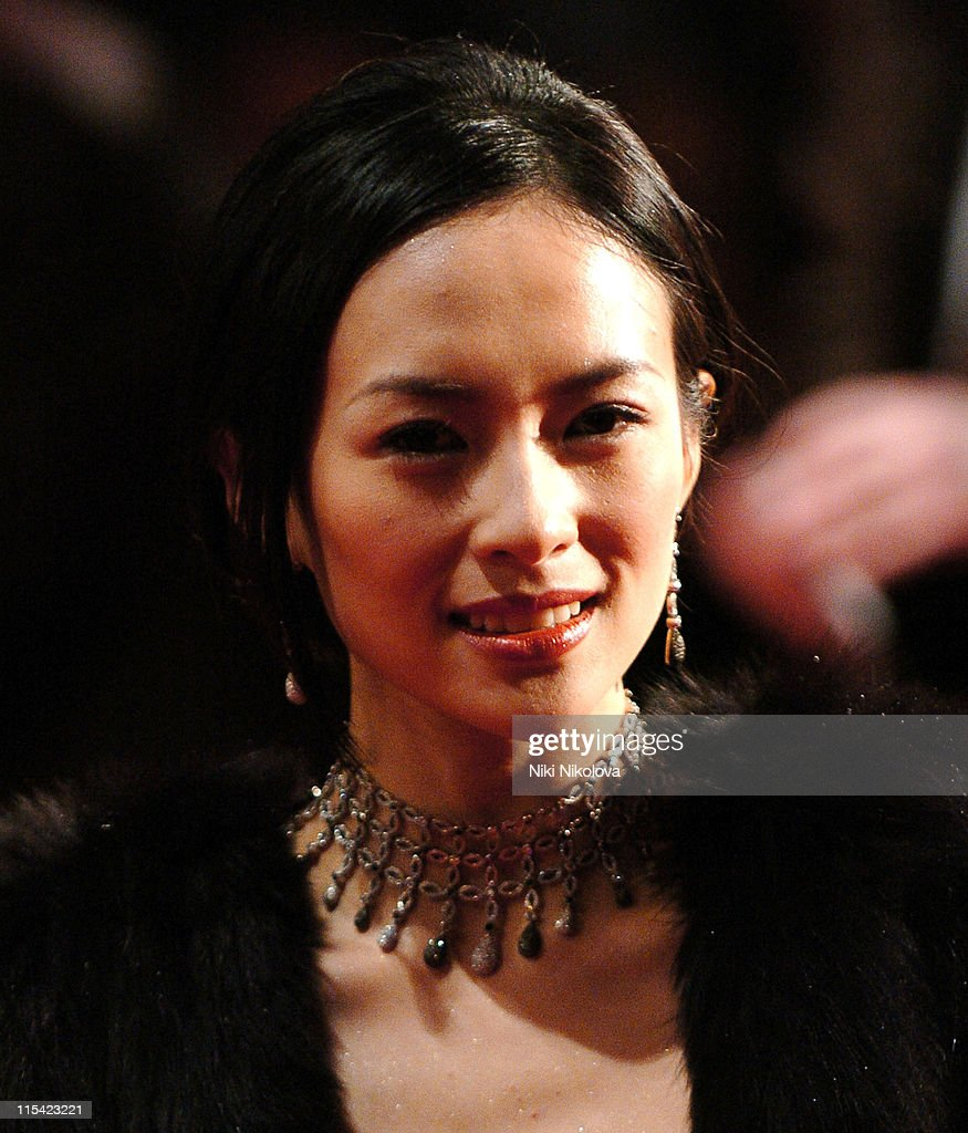 <a gi-track='captionPersonalityLinkClicked' href=/galleries/search?phrase=Ziyi+Zhang&family=editorial&specificpeople=172013 ng-click='$event.stopPropagation()'>Ziyi Zhang</a> during The Orange British Academy Film Awards 2006 - Arrivals at Odeon Leicester Square in London, Great Britain.