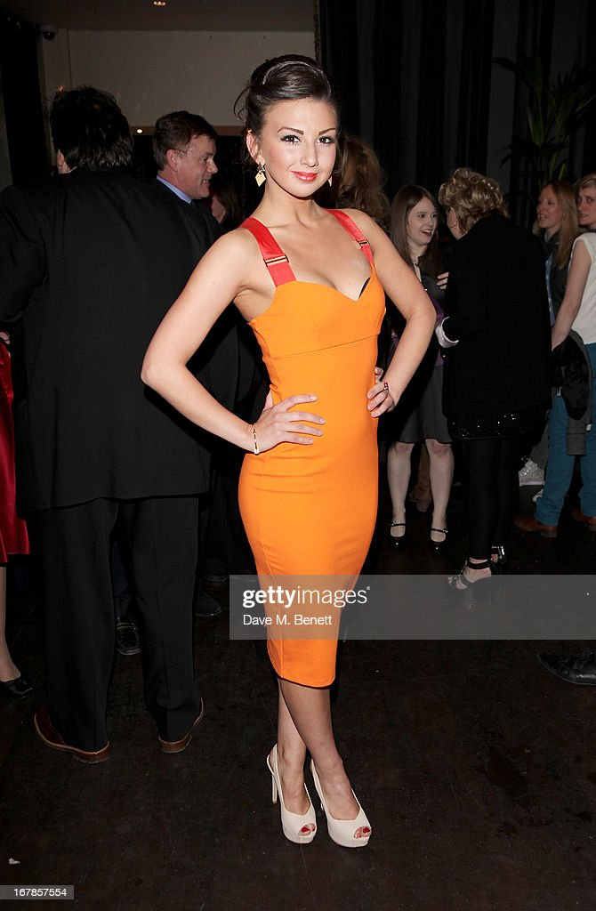 Zizi Strallen attends an after party celebrating the press night performance of the Menier Chocolate Factory's 'Merrily We Roll Along', following its transfer to the Harold Pinter Theatre, at Grace Restaurant on May 1, 2013 in London, England.