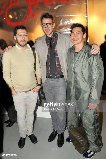 Özkan Cangüven Zach Barnett and Alexander Lee attend BERLIN 2000 AfterParty With a Performance by JOHN BOCK Presented by PACEWILDENSTEIN and ART...