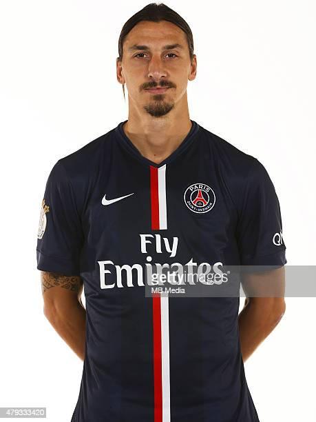 Zlatan IBRAHIMOVIC Portrait Officiel Paris Saint Germain Photo Gavelle / PSG / Icon Sport/MB Media