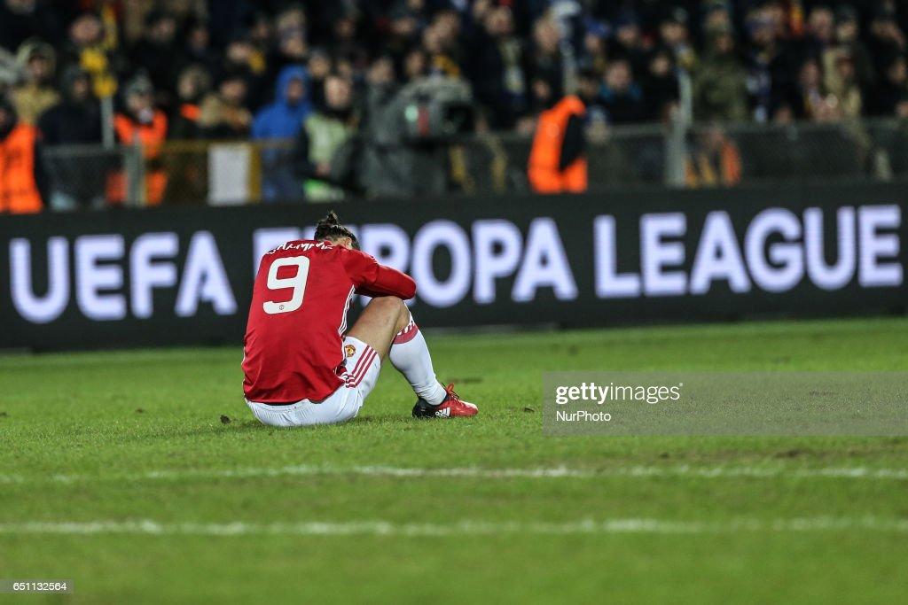 FK Rostov v Manchester United - UEFA Europa League Round of 16: First Leg : News Photo