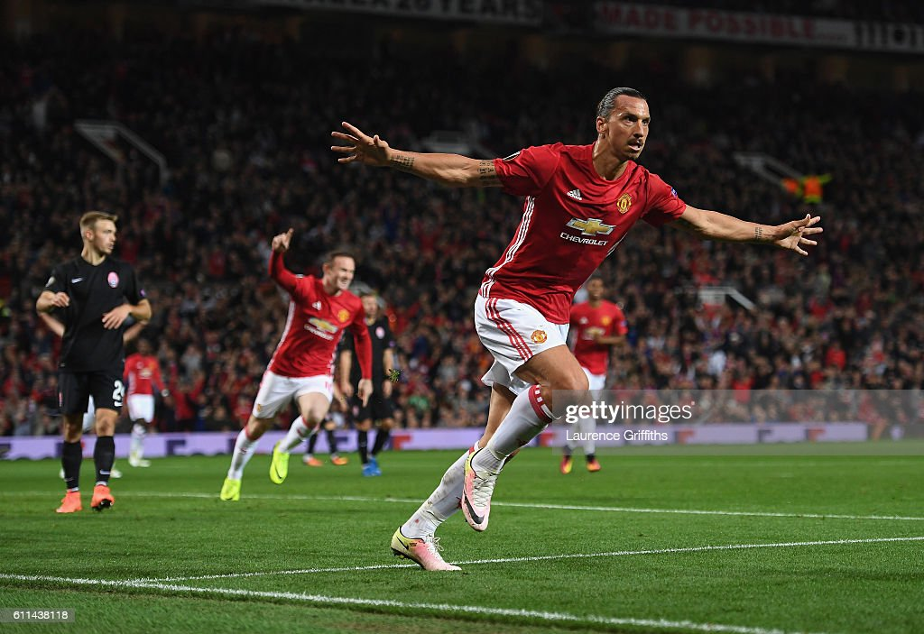 Manchester United FC v FC Zorya Luhansk - UEFA Europa League : News Photo