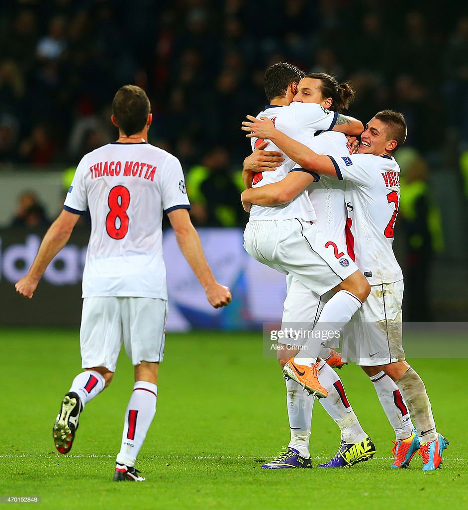 Bayer Leverkusen v Paris Saint-Germain FC - UEFA Champions League Round of 16