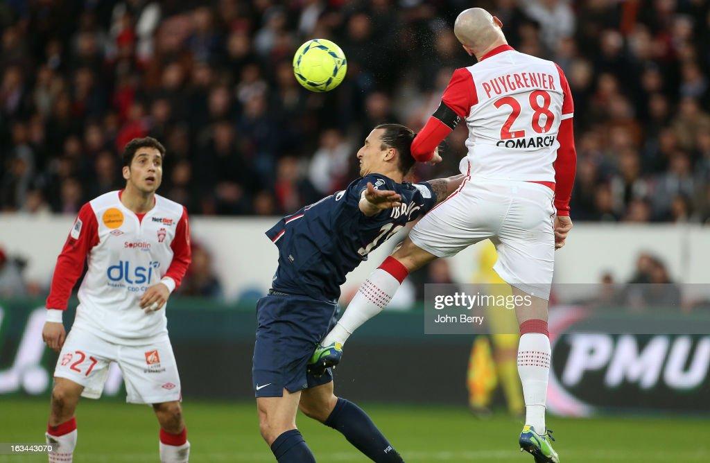 Paris Saint-Germain FC v AS Nancy-Lorraine - Ligue 1