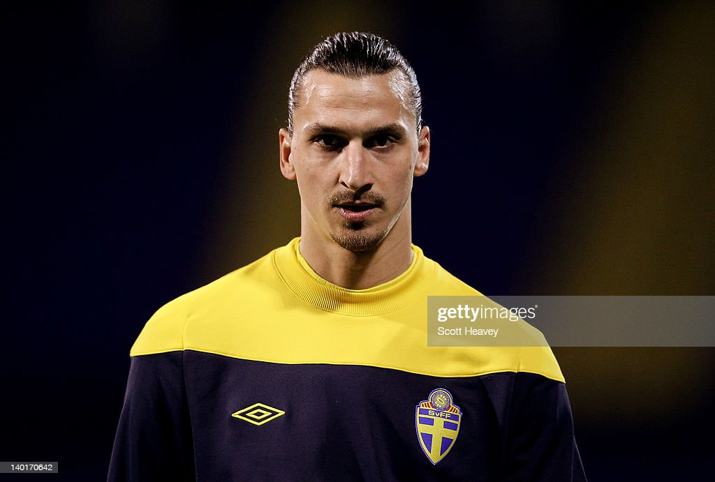 Zlatan Ibrahimovic of Sweden prior to the International Friendly between Croatia and Sweden on February 29, 2012 in Zagreb, Croatia.