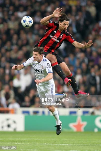Zlatan Ibrahimovic / Xabi Alonso Real Madrid / Milan AC Champions League 2010/2011