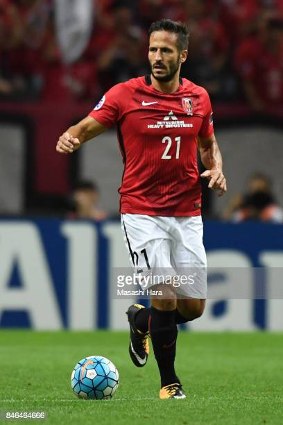 Zlatan of Urawa Red Diamonds in action during the AFC Champions League quarter final second leg match between Urawa Red Diamonds and Kawasaki...