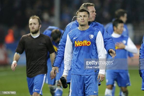 Zlatko Dedic of Bochum frustration after during the 2 Bundesliga match between FC St Pauli and VfL Bochum at Millerntor Stadium on November 12 2012...