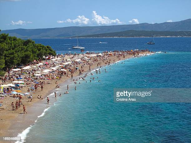 Zlatni Rat is a narrow white pebble beach on a promontory near Bol it is one of the most wellknown beaches and desired by the tourists who arrive in...