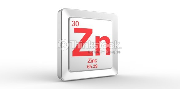 Zn Symbol 30 Material For Zinc Chemical Element Stock Photo Thinkstock