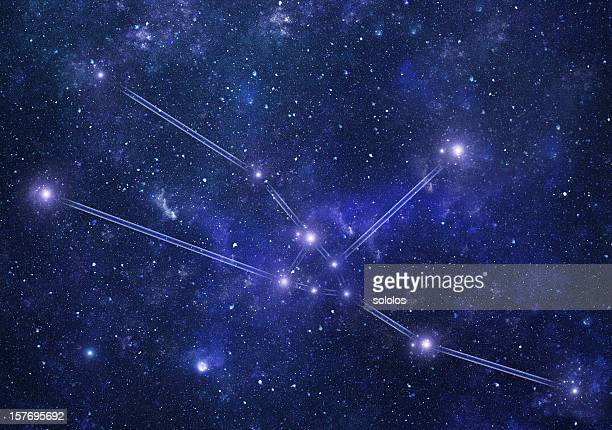 Zodiacal costellazioni. Toro-Segno zodiacale