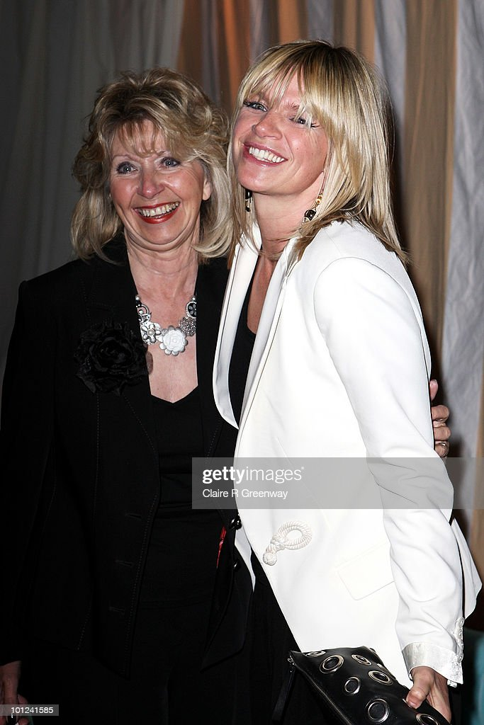 Zoe Ball and her mother attend the after party following the UK premiere of 'Sex And The City 2' at The Orangery, Kensington Gardens on May 27, 2010 in London, England.