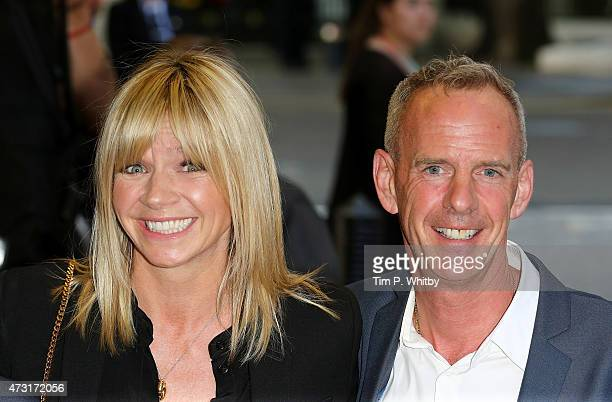 Zoe Ball and Norman Cook attend the UK Gala screening of 'Man Up' at The Curzon Mayfair on May 13 2015 in London England