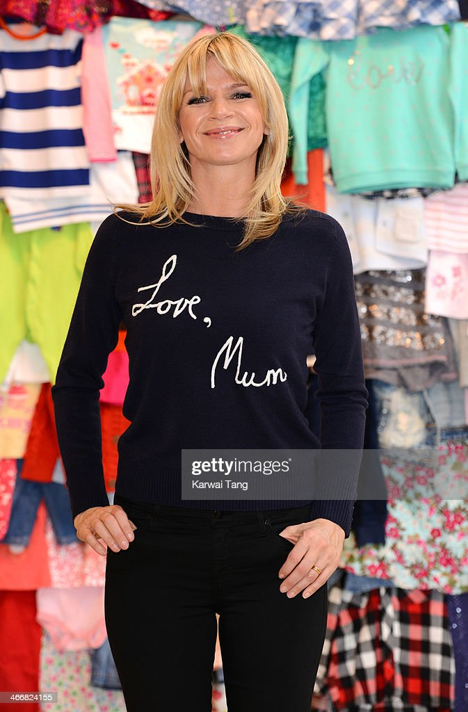 <a gi-track='captionPersonalityLinkClicked' href=/galleries/search?phrase=Zoe+Ball&family=editorial&specificpeople=216374 ng-click='$event.stopPropagation()'>Zoe Ball</a> attends a photocall to launch the M&S 'Love, Mum' shwopping campaign in conjunction with Oxfam at Marks & Spencer Marble Arch on February 4, 2014 in London, England.
