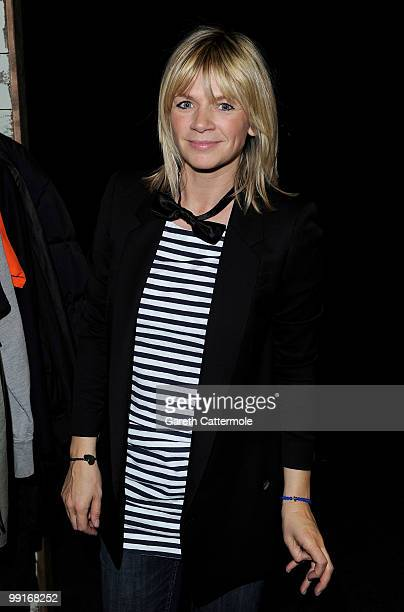 Zoe Ball attends the launch photocall for The Oxfam Curiosity Shop which includes items donated by celebrities at Selfridges on May 13 2010 in London...