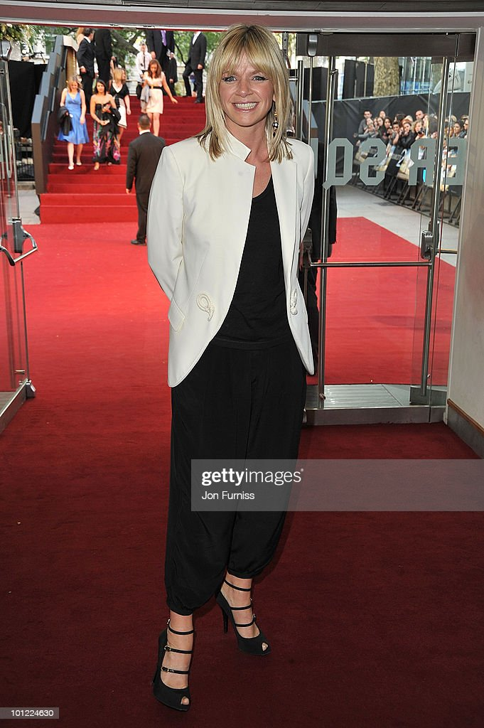 Zoe Ball attends the UK premiere of Sex And The City 2 at Odeon Leicester Square on May 27, 2010 in London, England.