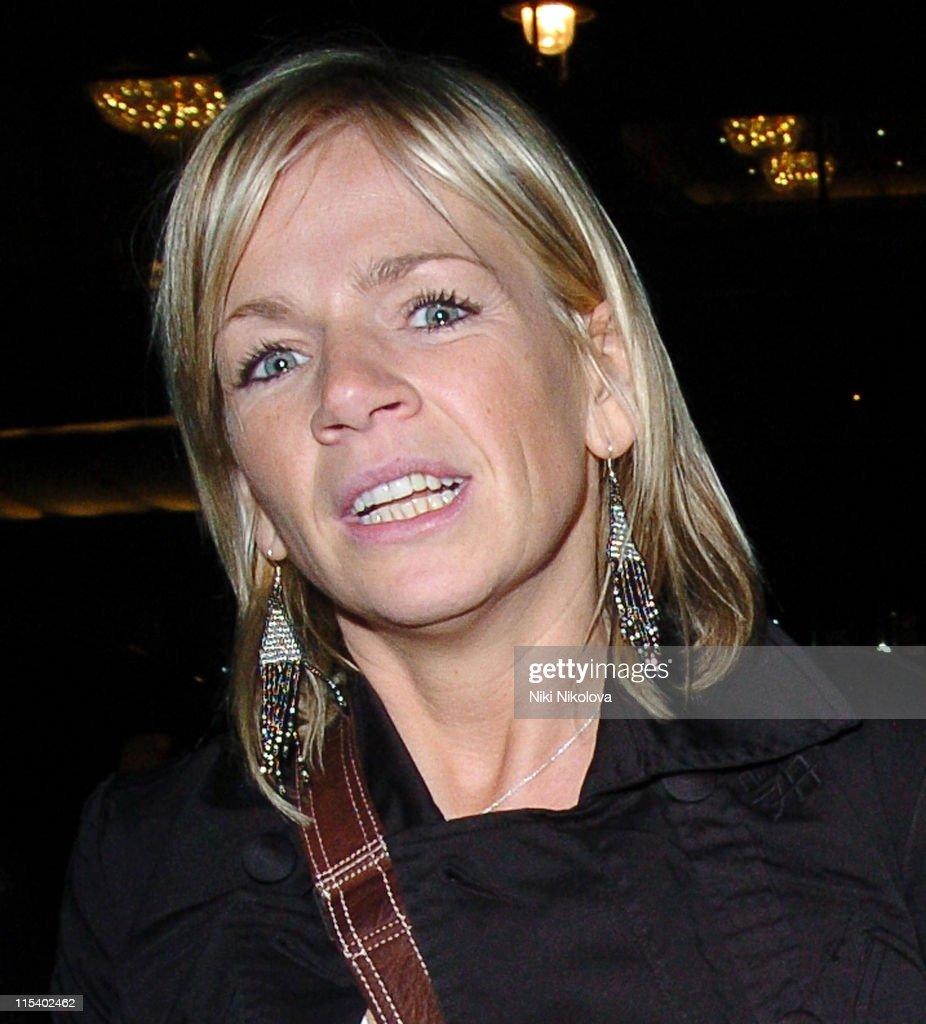 Celebrity Sightings at Nobu in London - January 31, 2006
