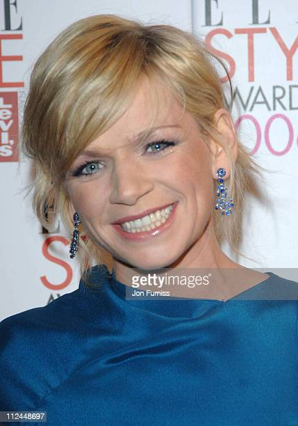 Zoe Ball during Elle Style Awards 2006 Inside Arrivals at Old Truman Brewery in London Great Britain