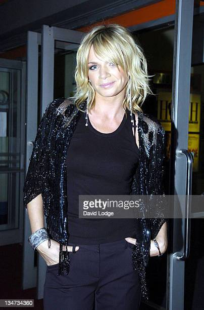 Zoe Ball during 'Four Brothers and a Funeral' UK Short Film Premiere in London United Kingdom