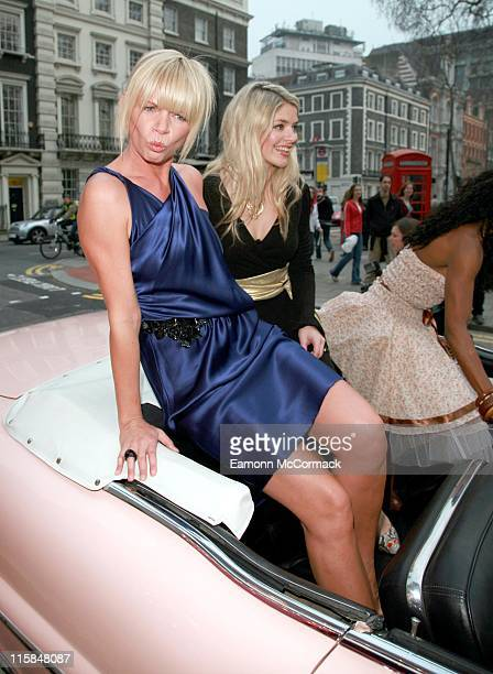 Zoe Ball Holly Willoughby and Sinitta during 'Grease Is The Word' Press Photocall at Bloomsbury Ballroom in London Great Britain