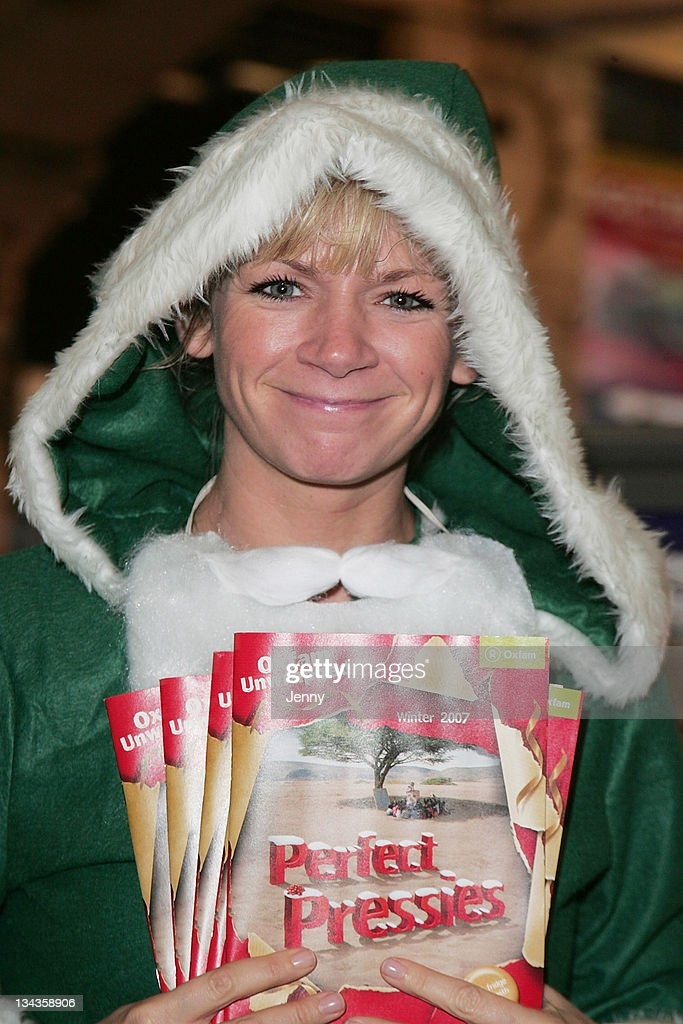 Zoe Ball Launches Oxfam Unwrapped Travelling Gift Stall