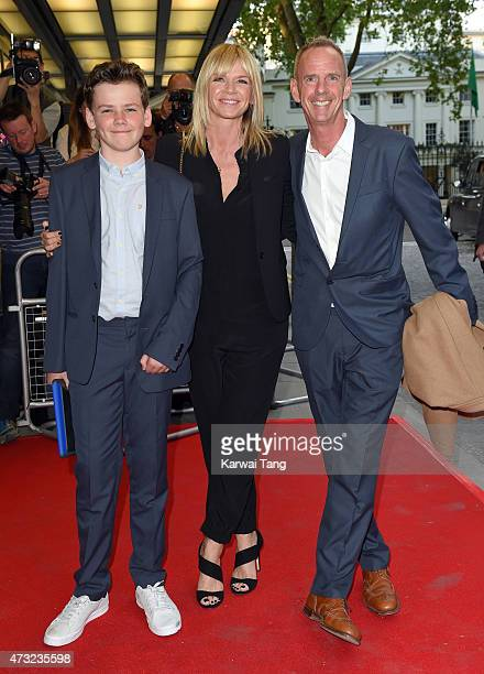 Zoe Ball Norman Cook and their Son Woody Cook attend the UK Gala screening of 'Man Up' at The Curzon Mayfair on May 13 2015 in London England
