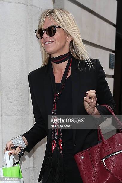 Zoe Ball seen at BBC Radio 2 on September 27 2016 in London England