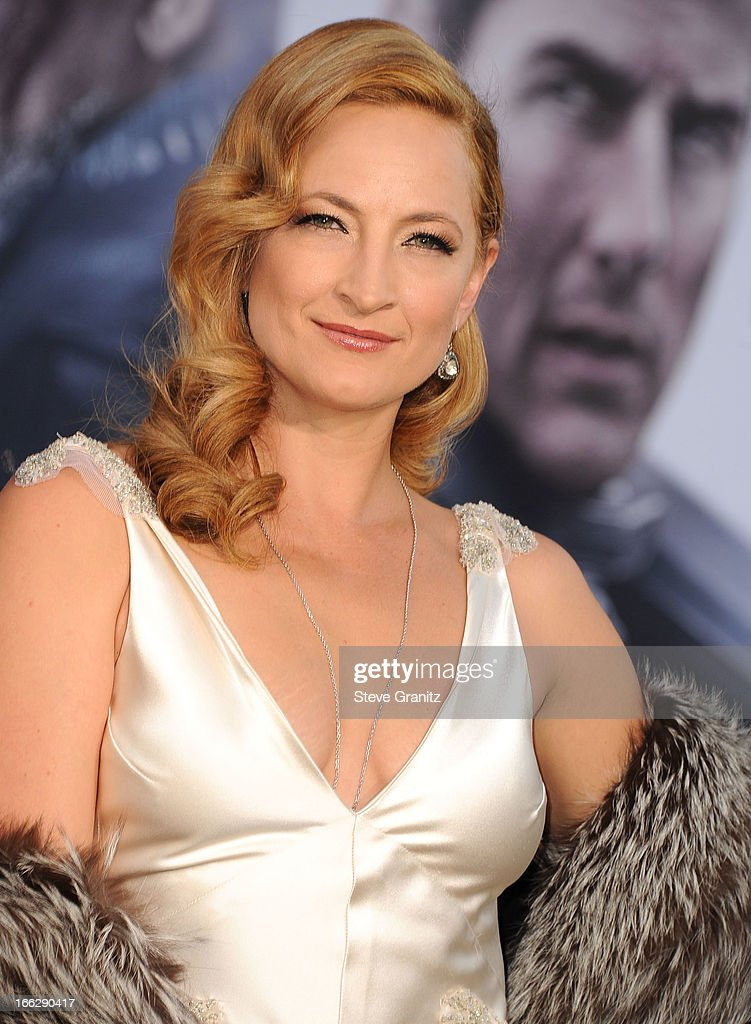 Zoe Bell arrives at the 'Oblivion' Los Angeles Premiere at Dolby Theatre on April 10 2013 in Hollywood California