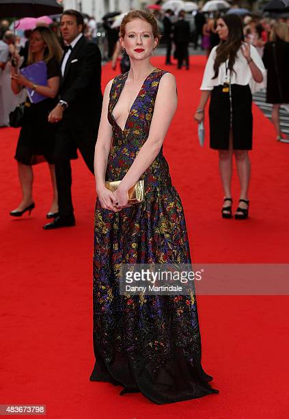 Zoe Boyle attends as BAFTA celebrate 'Downton Abbey' at Richmond Theatre on August 11 2015 in Richmond England