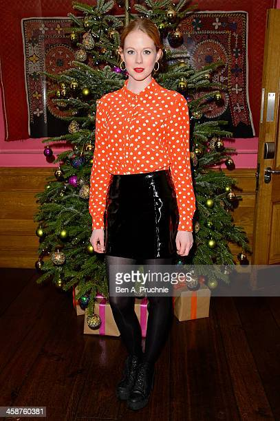 Zoe Boyle attends the August Osage County drinks screening at Soho Hotel on December 21 2013 in London England