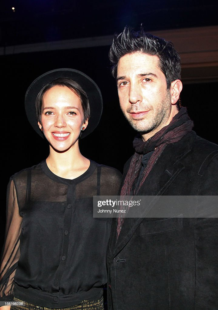 Zoe Buckman and <a gi-track='captionPersonalityLinkClicked' href=/galleries/search?phrase=David+Schwimmer&family=editorial&specificpeople=206148 ng-click='$event.stopPropagation()'>David Schwimmer</a> attend the 7th Annual Charity Ball at the 69th Regiment Armory on December 10, 2012 in New York City.