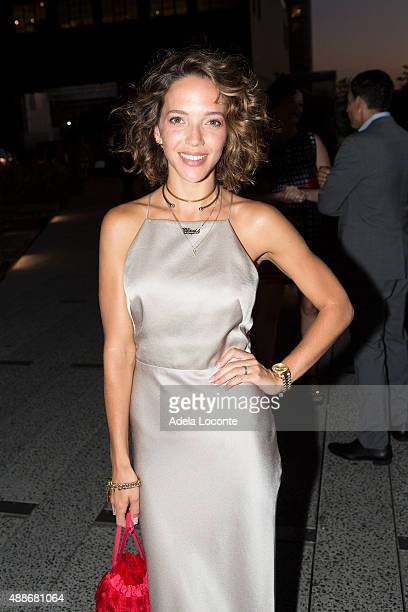 Zoe Buckman attend the Anual Fundraising Event at Diller von Furstenberg Sundeck on September 16 2015 in New York City