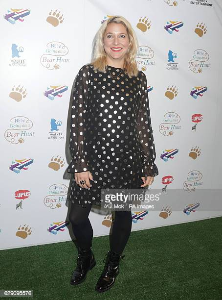 Zoe De Pass attends a screening of We're Going on a Bear Hunt at the Empire Leicester Square in central London