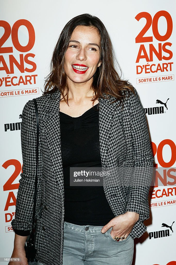 Zoe Felix attends '20 Ans D'Ecart' Premiere at Gaumont Capucines on March 5, 2013 in Paris, France.