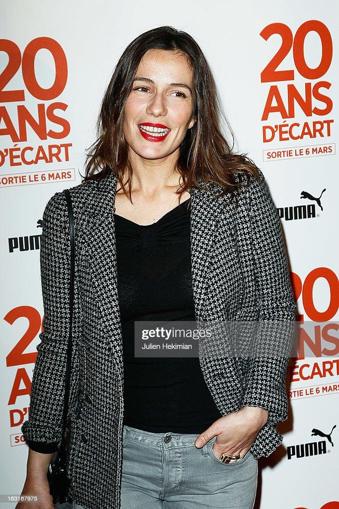 Zoe Felix attends '20 Ans D'Ecart' Premiere at Gaumont Capucines on March 5, 2013 in Paris, France.