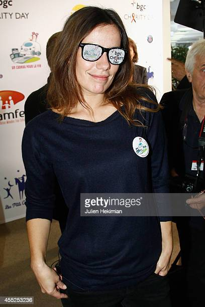 Zoe Felix attends Aurel BCG Charity Benefit Day 2014 on September 11 2014 in Paris France