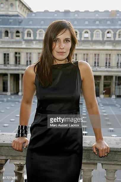 Zoe Felix attends the launching of the 24eme Fete du Cinema at Ministere de al Culture on June 26 2008 in Paris France