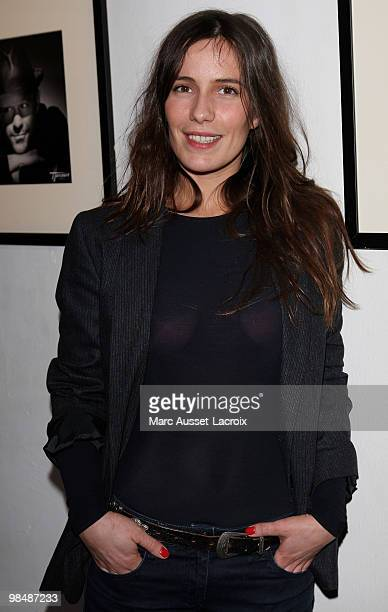 Zoe Felix attends the 'Les Doudous Enchantes' auction and party at Palais De Tokyo on April 15 2010 in Paris France