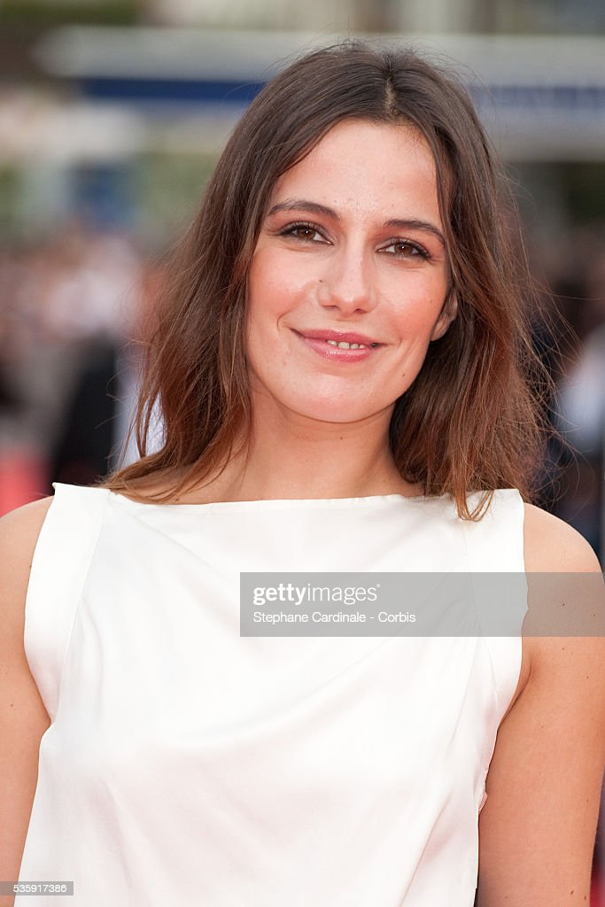 Zoe Felix attends the premiere of movie 'You Will Meet a Tall Dark Stranger' at the 36th American Film Festival in Deauville.